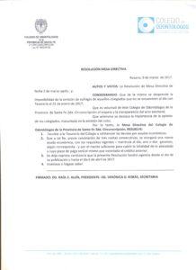 RESOLUCIÓN 9 DE MARZO
